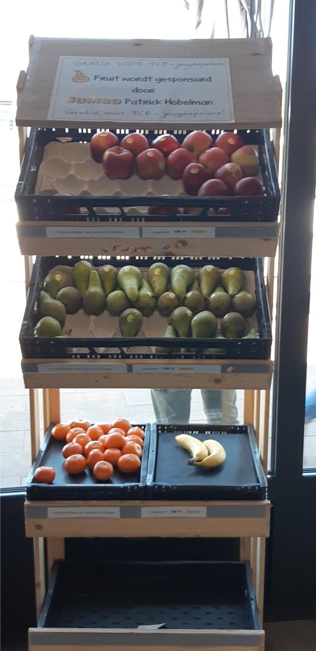 Gratis fruit door Jumbo Patrick Hobelman!